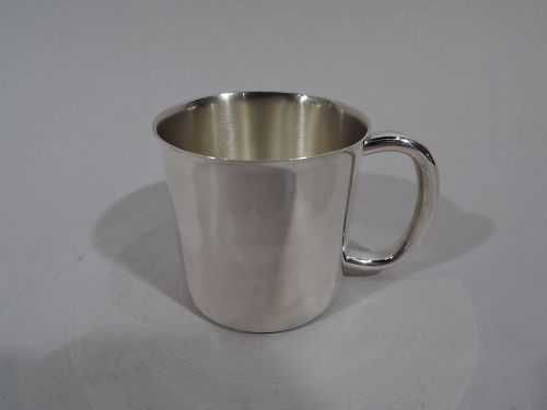 American Midcentury Modern Sterling Silver Baby Cup