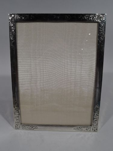 Antique Edwardian Sterling Silver Picture Frame by Birks