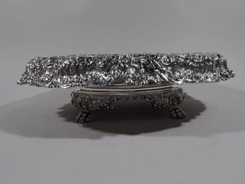 Heavy and Sumptuous Sterling Silver Centerpiece Bowl by Tiffany