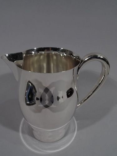 American Colonial Sterling Silver Water Pitcher by International