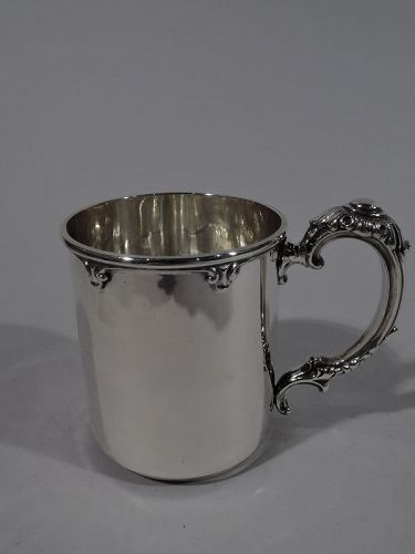Turn-of-the-Century American Sterling Silver Baby Cup