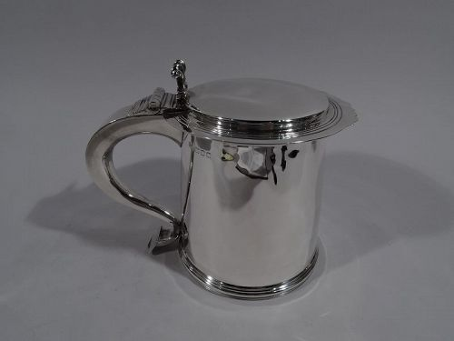 Tiffany English Sterling Silver Tankard for Olden-Days Toping