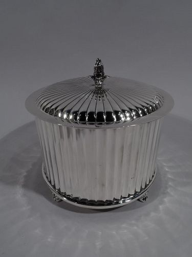Cartier American Modern Classical Sterling Silver Box