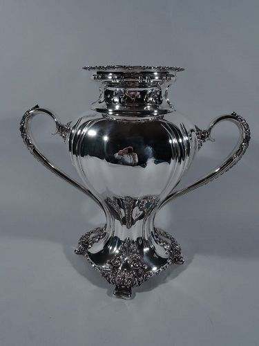 Antique Tiffany Sterling Silver Heavy Classical Trophy Cup