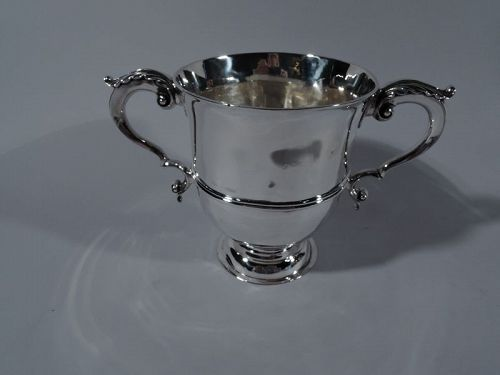 Early Georgian Sterling Silver Classical Urn 1726