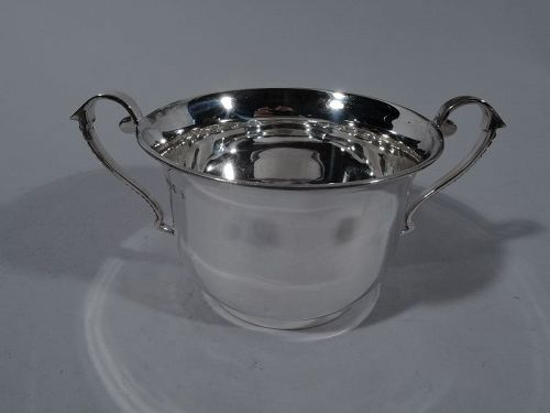 Traditional English Sterling Silver Two-Handled Cup 1900