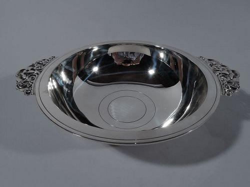 Tiffany Art Deco Sterling Silver Bowl C 1939