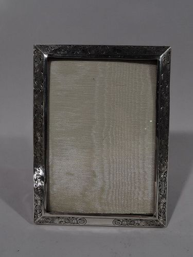 Pretty Turn-of-the-Century Sterling Silver Picture Frame by Kerr