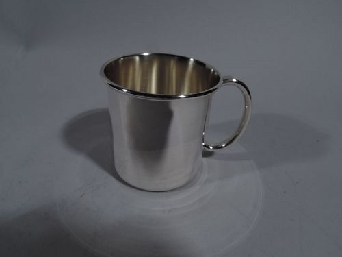 Reed & Barton Plain and Simple Sterling Silver Baby Cup