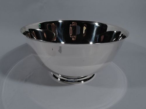 Tiffany Large & Modern Sterling Silver Showcase-Quality Trophy Bowl