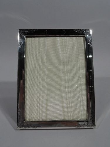 American Edwardian Sterling Silver Picture Frame by Kerr