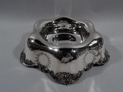 American Edwardian Regency Sterling Silver Centerpiece Bowl