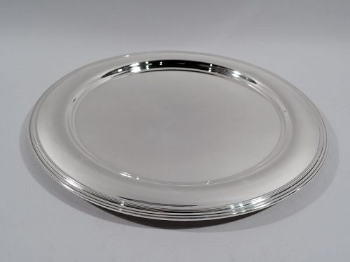 Tiffany Modern Sterling Silver 13-Inch Serving Tray