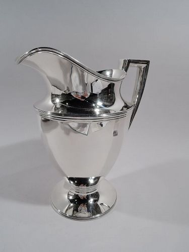 Classic Tiffany American Sterling Silver Water Pitcher