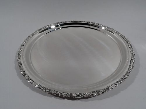 Antique Bailey, Banks & Biddle Sterling Silver Serving Tray