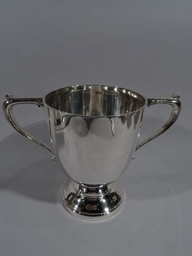 Antique English Sterling Silver Classical Urn Trophy Cup 1926