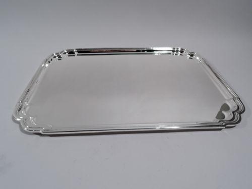 Tiffany Georgian-Inspired Sterling Silver Heavy Rectangular Tray