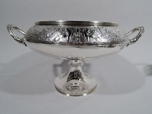 Antique Gorham American Classical Sterling Silver Compote 1876