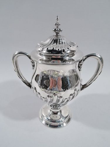 Antique Classical Covered Urn Trophy Cup by New York Maker 1896