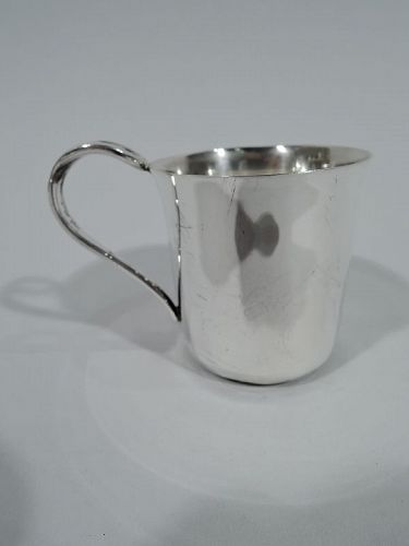 Tiffany American Modern Sterling Silver Baby Cup