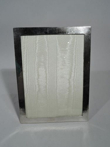 Tiffany Craftsman Hand-Hammered Sterling Silver Picture Frame