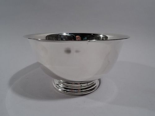 American Colonial Revival Sterling Silver Revere Bowl