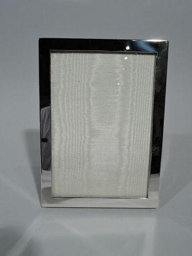 Cartier Modern Sterling Silver Frame for Portrait or Landscape Picture