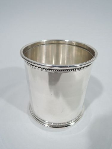 Cartier American Modern Classical Sterling Silver Mint Julep Cup