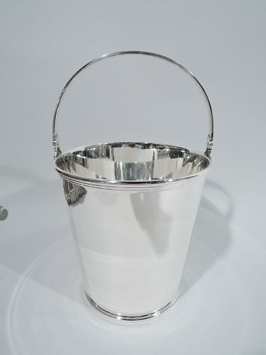 Tiffany Art Deco Sterling Silver Ice Bucket C 1927