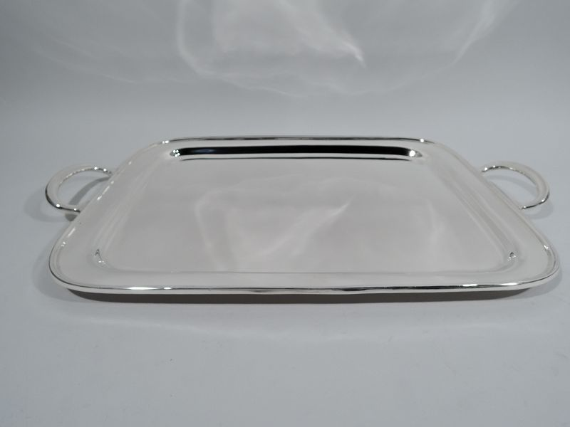 Tiffany Midcentury Modern Large & Heavy Sterling Silver Tray