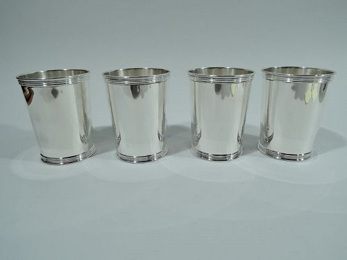Real Deal Southern Barware�Set of 4 Trees Kentucky Mint Julep Cups