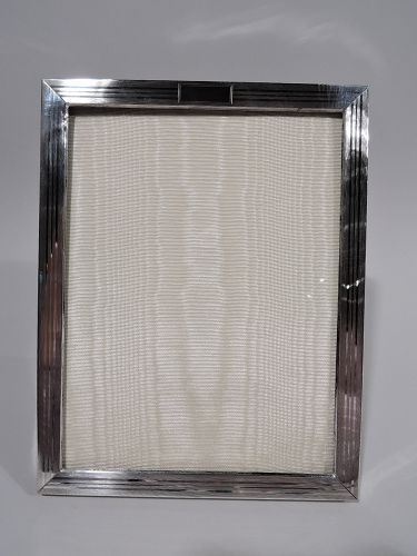 Antique American Art Deco Sterling Silver Picture Frame
