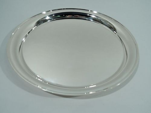 Bailey, Banks & Biddle Modern Sterling Silver Party Platter Tray