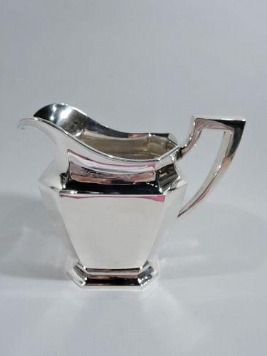 Gorham Fairfax Art Deco Sterling Silver Water Pitcher