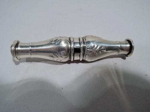 Antique Gorham Edwardian Regency Sterling Silver Portable Corkscrew