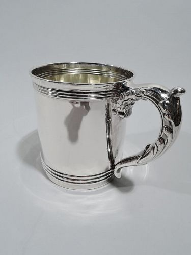 Gorham American Classical Sterling Silver Baby Cup 1893
