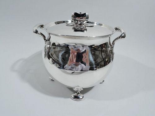 Tiffany English Sterling Silver Ice Bucket 1932