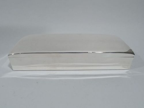 American Midcentury Modern Sterling Silver Box by Smith & Smith