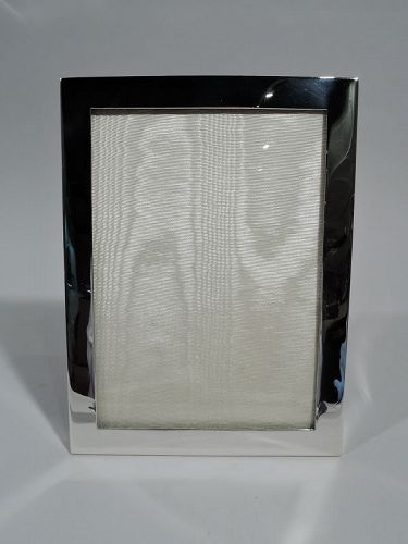 Tiffany American Modern Sterling Silver Picture Frame C 1945