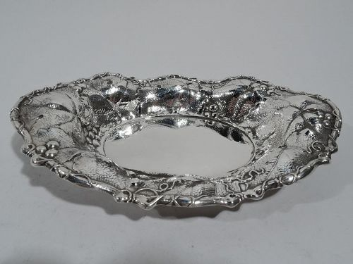 Antique Whiting Art Nouveau Sterling Silver Bowl 1906