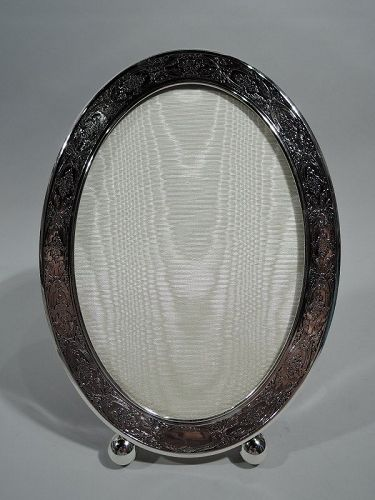 Antique Kerr Edwardian Regency Sterling Silver Picture Frame
