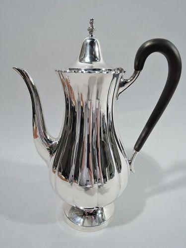 Cartier Georgian-Style Sterling Silver Coffeepot