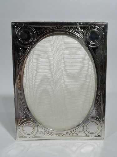 Antique Tiffany Edwardian Regency Sterling Silver Picture Frame