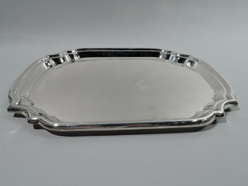 American Sterling Silver Party Platter by Poole