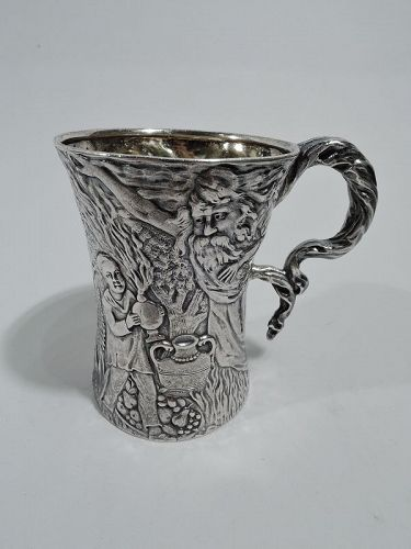 Rare & Unusual Antique American Sterling Silver Baby Cup by Tiffany