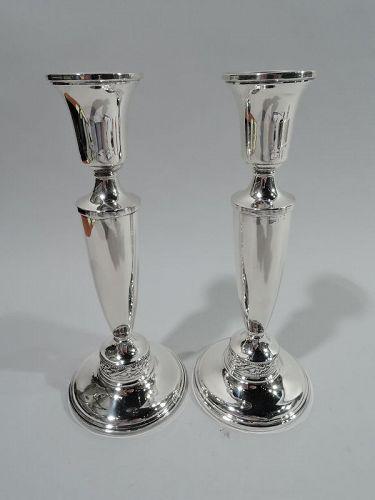 Pair of Midcentury Modern Candlesticks by Brooklyn Maker