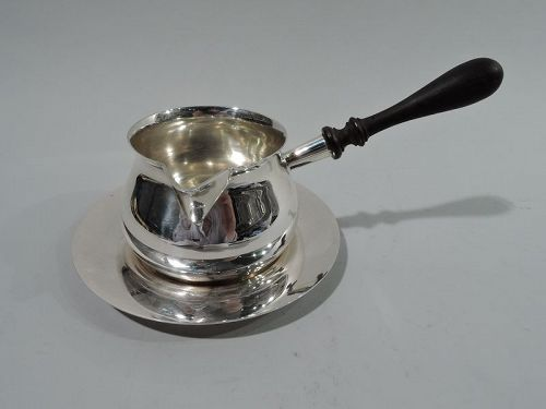 Georgian-Style Sterling Silver Pipkin on Stand by Tuttle 1954