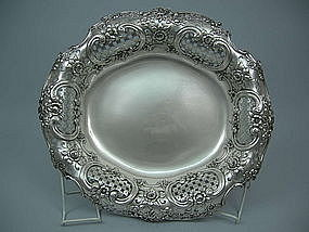 Magnificent Tiffany Silver Centerpiece Bowl Circa 1895