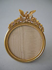 French Bronze Dore Gilded Picture Frame C 1900