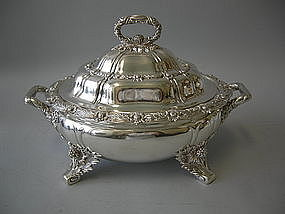 Tiffany & Co  Chrysanthemum  Soup Tureen Circa 1895